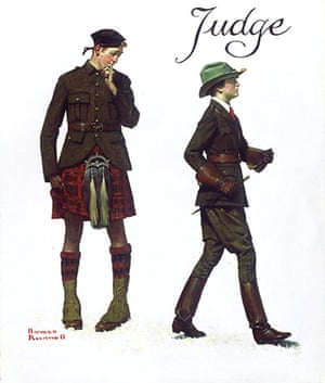 Norman Rockwell: Petticoats and Pants