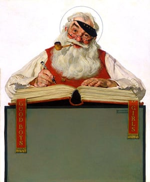 Norman Rockwell: No Christmas Problem Now