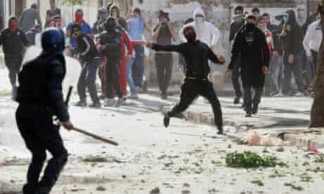 Algeria food riots