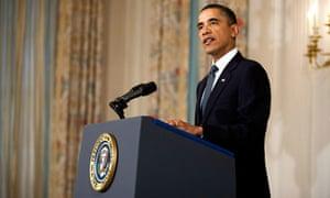 Barack Obama responds to news of the shooting in Tucson, Arizona