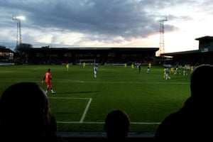 Torquay v Carlisle: The view from the away end at Plainmoor