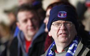 Torquay v Carlisle: A Carlisle United fan looks dejected