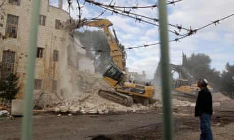 hotel demolished moskowitz settlers