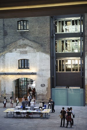 Central Saint Martins Opens Its Doors In Pictures Art And Design The Guardian