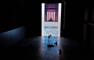 Tacita Dean: Looped film installation titled 'Film' by Tacita Dean at the Turbine Hall