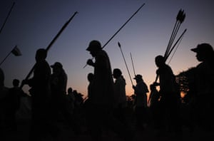 Bolivia Tipnis protests: August 16: Amazon indigenous march from Tijamuchi