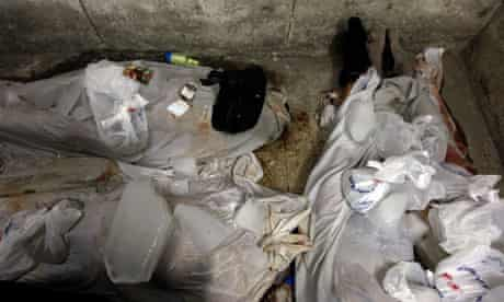 Bodies of Egyptian Copts 10/10/11