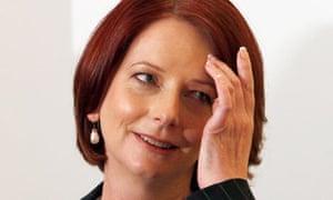Australia's prime minister Julia Gillard
