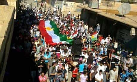 Syrian opposition demonstration October 2011