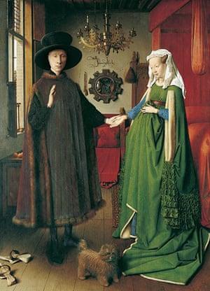 The Art Museum / Phaidon : Jan Van Eyck's Giovanni Arnolfini and his Wife