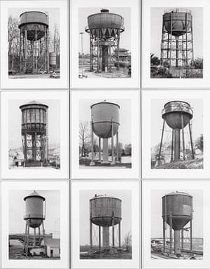 The Art Museum / Phaidon : Water Towers, 1980, by Bernd and Hilla Becher