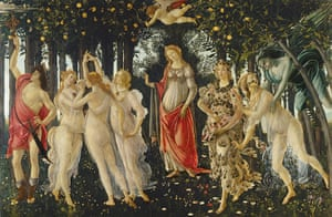 The Art Museum / Phaidon : Primavera, c.1478, by Sandro Botticelli