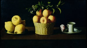 The Art Museum / Phaidon : Still Life With Lemons and Oranges, 1633, by Francisco de Zurbaran