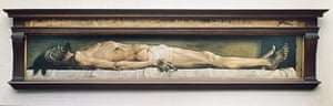 The Art Museum / Phaidon :  The Dead Christ, 1521, by  Hans the Younger Holbein