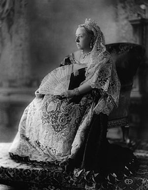The history of lace: Queen Victoria, 1897