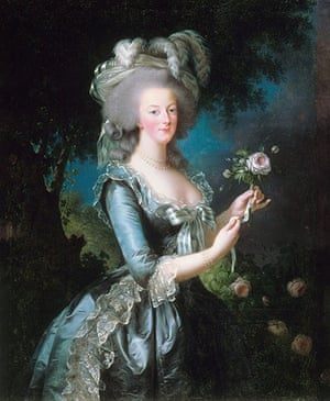 The history of lace: Marie Antoinette by Elisabeth Vigee-Lebrun, 1783
