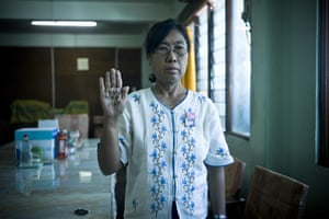 Burma political prisoners: Dr Daw May Win Myint