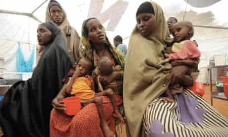 Somali women in Dadaab refugee camp