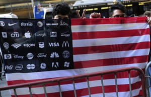Occupy protests: New York: Peace group protesters and members of Occupy Wall Street