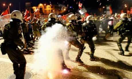 Demonstrations in Thessaloniki