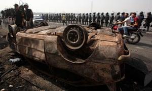Cairo riot police