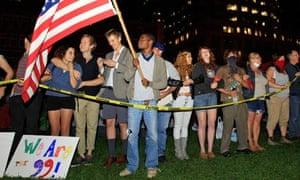 Occupy Boston protesters