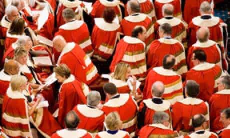The government is braced for a Lords vote on its controversial health reforms