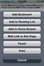 Stephen Fry's iPhone 4S: tweet