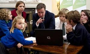 David Cameron and Sarah Teather