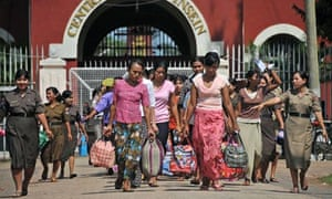 Burma Releases Some Political Prisoners In Amnesty World