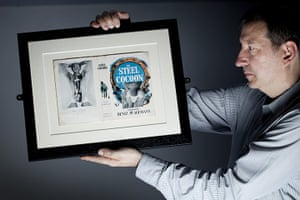 Joe Orton exhibition: Mark Aston of the Islington Local History Centre