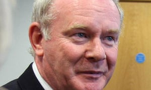 The Sinn Féin candidate for the Irish presidency, Martin McGuinness