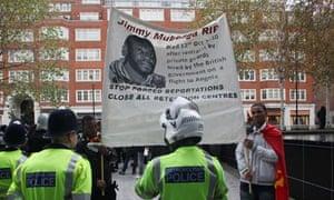 Jimmy Mubenga protest 12/11/2010
