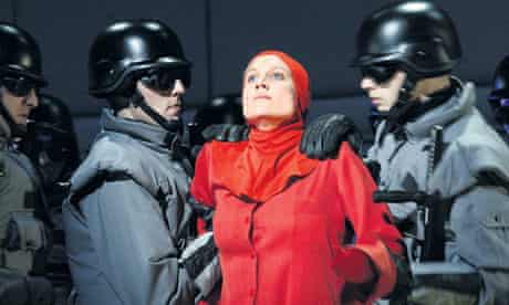 Scene from English National Opera production of The Handmaid's Tale