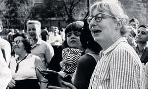 Jane Jacobs In Washington Square Park, New York