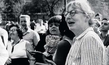 Jane Jacobs In Washington Square Park, New York