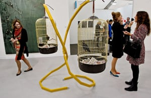 Frieze Art Fair 2011: FOS: Nothing Disappears Only Our Amnesia Arises 2004