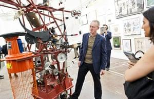Frieze Art Fair 2011: Michael Landy - Machine that eats credit cards and produces art
