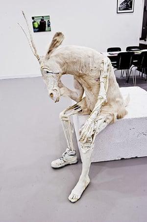 Frieze Art Fair 2011: The Billy-Goat 2011 by Pawel Althamer