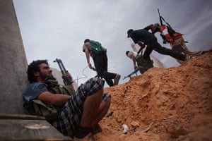 From the agencies: Manu Brabo: Revolutionary fighters attack pro-Gadhafi forces in Sirte