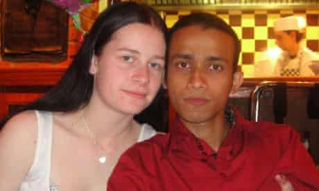 Charlotte and Rahman Hafizur