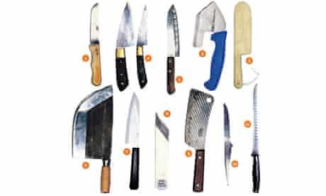 Allegra McEvedy's favourite knives