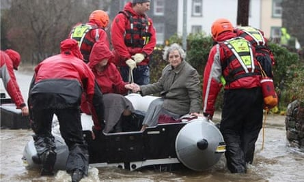 rescue team flood
