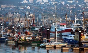 Newlyn harbour, Cornwall