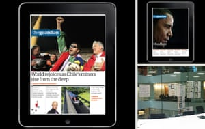 The Guardian iPad design evolution