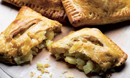 Dan Lepard's ale-crust potato pasties recipe