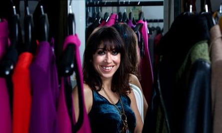 Sarah Curran, founder of my-wardrobe.com.