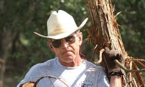 Man of action: George Bush.