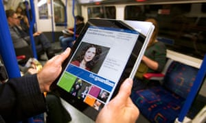 Guardian ipad edition launches
