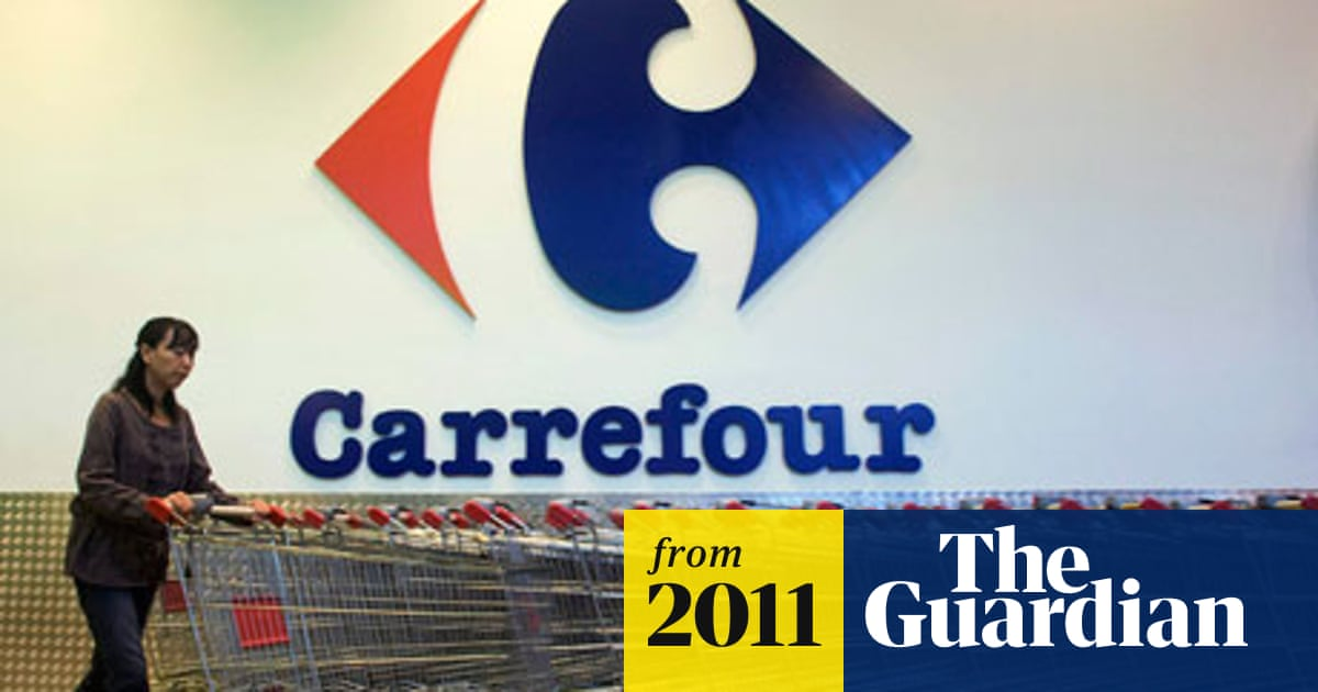 Carrefour, Europe's biggest retailer, sounds the alarm over the